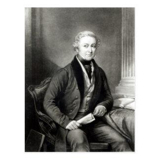Portrait of Sir Robert Peel Postcard