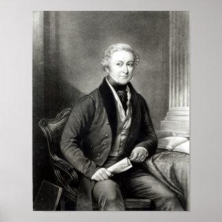 Portrait of Sir Robert Peel Posters