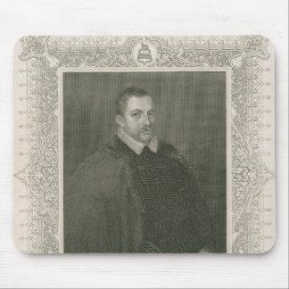 Portrait of Sir Thomas Bodley Mouse Mat
