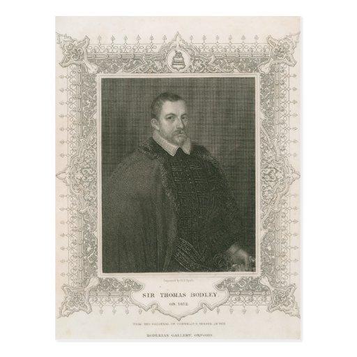 Portrait of Sir Thomas Bodley Postcards