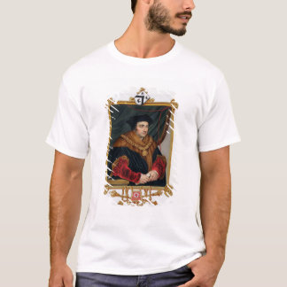 Portrait of Sir Thomas More (1478-1535) from 'Memo T-Shirt