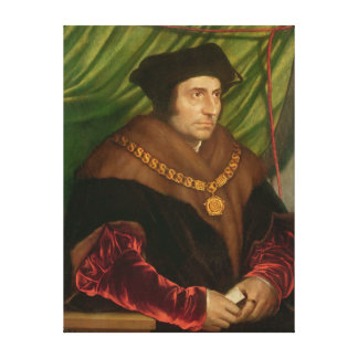 Portrait of Sir Thomas More Canvas Print