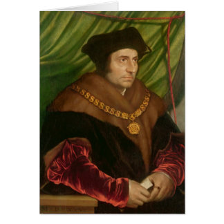 Portrait of Sir Thomas More Cards