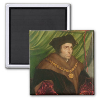Portrait of Sir Thomas More Square Magnet
