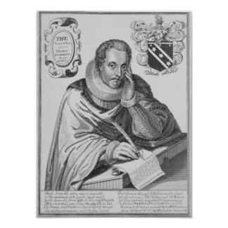 Portrait of Sir Thomas Overbury Poster
