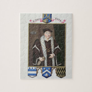 Portrait of Sir Thomas Pope (c.1507-99) from 'Memo Jigsaw Puzzle