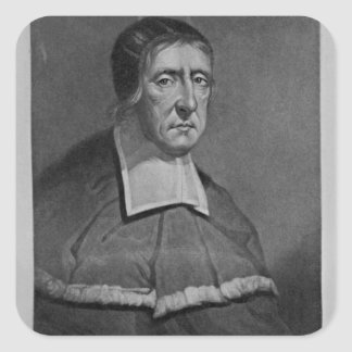 Portrait of Sir Thomas Twisden Square Sticker