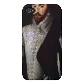 Portrait of Sir Walter Raleigh 1588 Case For iPhone 4