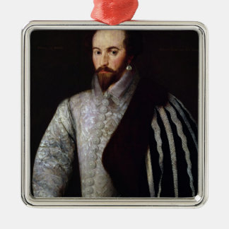 Portrait of Sir Walter Raleigh  1588 Christmas Ornament