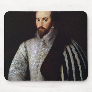 Portrait of Sir Walter Raleigh  1588 Mouse Mat