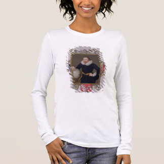 Portrait of Sir Walter Raleigh (c.1552-1618) from Long Sleeve T-Shirt