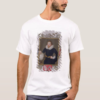 Portrait of Sir Walter Raleigh (c.1552-1618) from T-Shirt