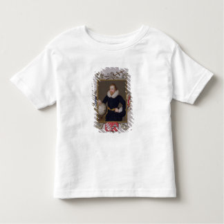 Portrait of Sir Walter Raleigh (c.1552-1618) from Toddler T-Shirt