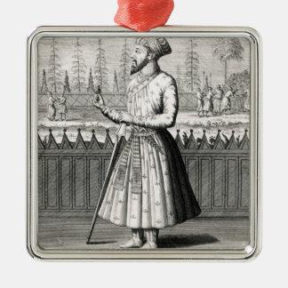 Portrait of Sjah Dijhaan Christmas Ornament