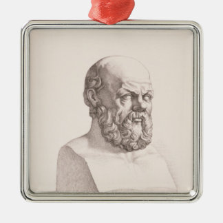 Portrait of Socrates Christmas Ornament
