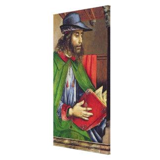 Portrait of Solon  c.1475 Stretched Canvas Prints