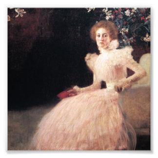 Portrait of Sonja Knips ; Gustav Klimt Painting Photographic Print