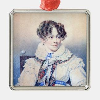 Portrait of Sophie Rostopchine Christmas Ornament