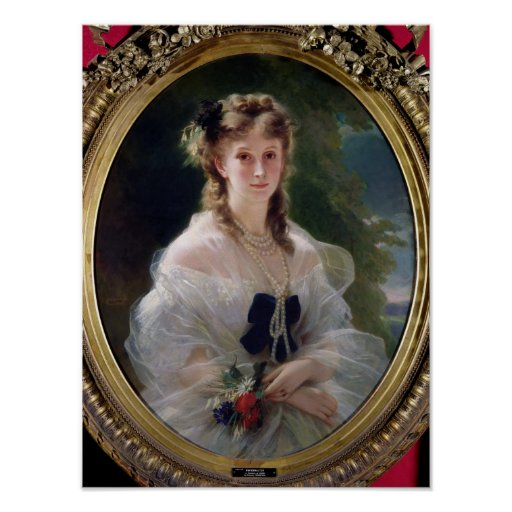 Portrait of Sophie Troubetskoy  Countess of Posters
