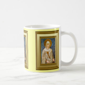 Portrait of St Clare, Assisi Coffee Mug
