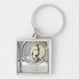 Portrait of St.Jadwiga Key Ring