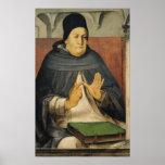 Portrait of St. Thomas Aquinas  c.1475 Poster