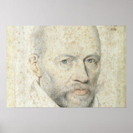 Portrait of St. Vincent de Paul Poster