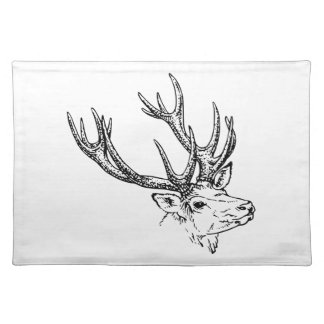 Portrait of Stag Deer Placemat