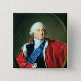 Portrait of Stanislas II Augustus , 1797 15 Cm Square Badge