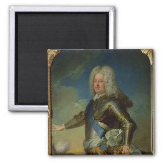 Portrait of Stanislas Lesczinski  King of Poland Square Magnet