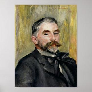 Portrait of Stephane Mallarme  1892 Poster