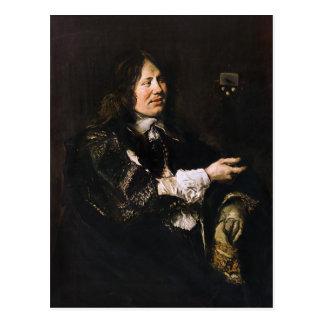 Portrait of Stephanus Geeraerdts Postcard