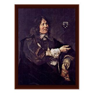 Portrait Of Stephen Geraedts By Hals Frans Postcards