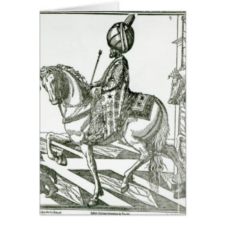Portrait of Suleiman the Magnificent Greeting Card