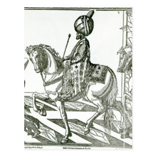 Portrait of Suleiman the Magnificent Postcard