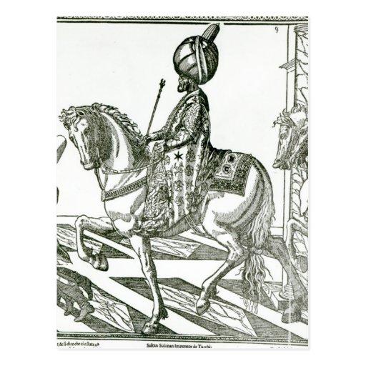 Portrait of Suleiman the Magnificent Post Cards