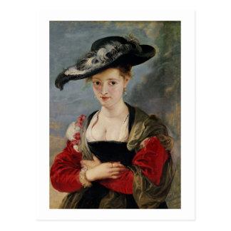 Portrait of Susanna Lunden (?) (Le Chapeau de Pail Postcard