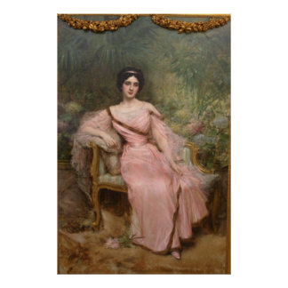 Portrait of Suzanne Hudelo Print