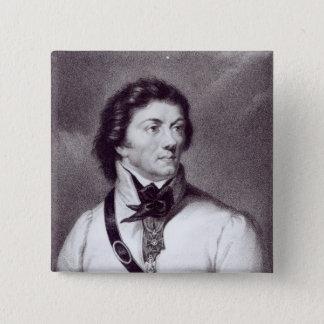 Portrait of Tadeusz Kosciuszko 15 Cm Square Badge
