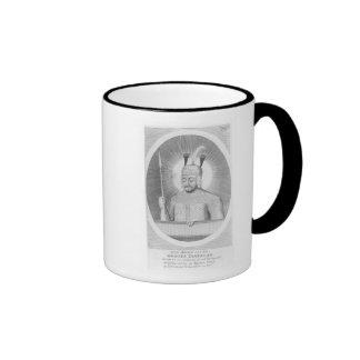 Portrait of Tamerlane the Great Ringer Mug