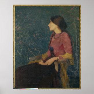 Portrait of Thadee-Caroline Jacquet Print