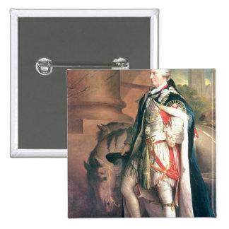 Portrait of the 1st Duke of Northumberland 15 Cm Square Badge