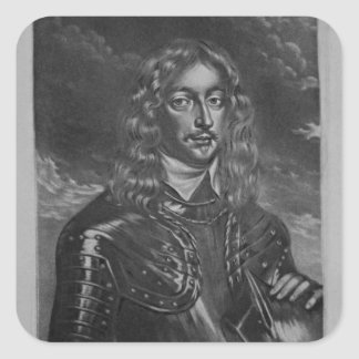 Portrait of the 2nd Earl of Lindsay Square Sticker
