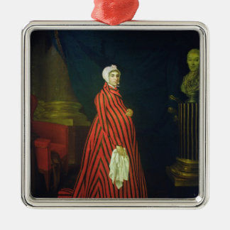 Portrait of the Actress and Praskovya Christmas Ornament