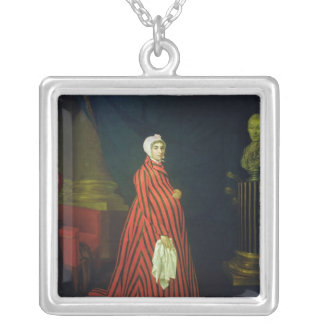 Portrait of the Actress and Praskovya Silver Plated Necklace