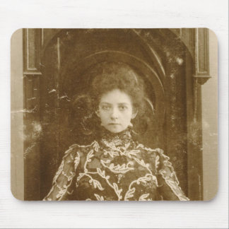 Portrait of the actress Vera Komissarzhevskaya Mouse Pad