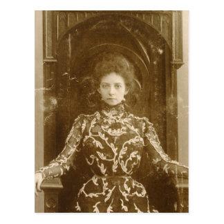 Portrait of the actress Vera Komissarzhevskaya Postcard