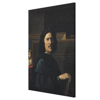 Portrait of the Artist, 1650 Canvas Print