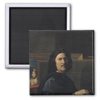 Portrait of the Artist, 1650 Magnet