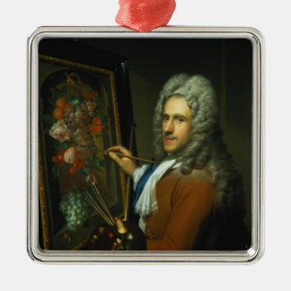 Portrait of the artist Coenraet Roepel Christmas Ornament
